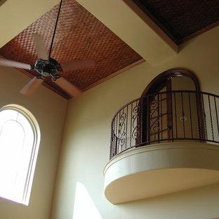 Inspiration for a mediterranean home design remodel in Austin
