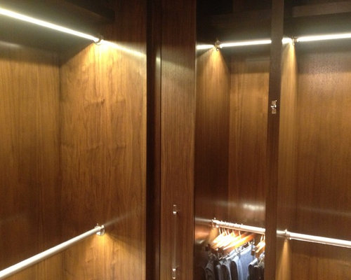 Newport Beach Residence   LED Closet Rod Lighting   Undercabinet Lighting