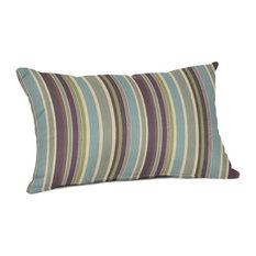 Sunbrella Lumbar Pillow, Brannon Whisper