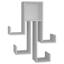 Modern Display & Wall Shelves by HOCUSPICUS LTD