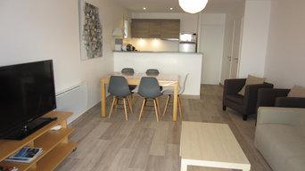 Rénovation complète d'un appartement à St Cyr sur Mer