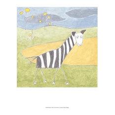 Quinn's Zebra by Megan Meagher Art Print, Size 13x19