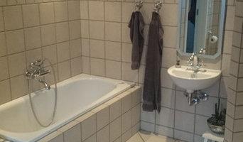 køkken og badeværelse