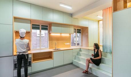 Houzzbesuch: Eine Mini-Wohnung in Madrid mit cleverem Stauraum
