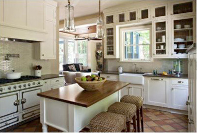 OLD TOWN ALEXANDRIA, VA: SMALL HISTORIC KITCHEN RENOVATION