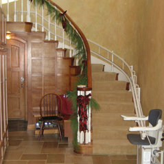Curved Rail Stair Lift