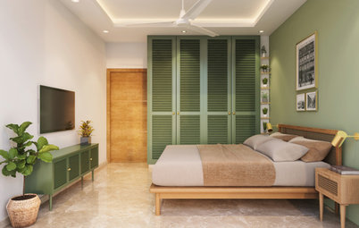 Delhi Houzz: The Power of Simplicity Is Evident In This Home