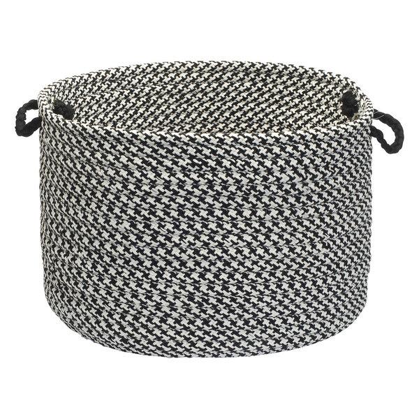 Houndstooth Tweed Basket, 14