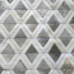 Adrogue cowhide rug - Area Rugs