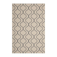 Linza Wave Abstract Trellis 8'x10' Indoor and Outdoor Area Rug