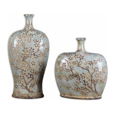 Uttermost Citrita Vases, Set of 2