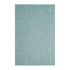 Delano Indoor and Outdoor Rug, Aqua and Aqua, 200x289 cm