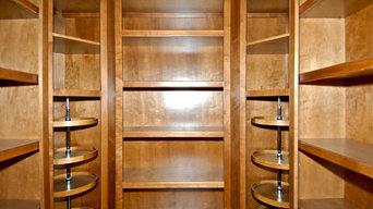 Custom Oak Closet