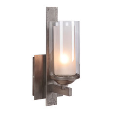 craftmade.com - Mod 1 Light Wall Sconce in Natural Iron And Vintage Iron - Wall Sconces