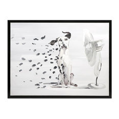 Imax 82136 Pongo Spots PS Frame Oil Painting