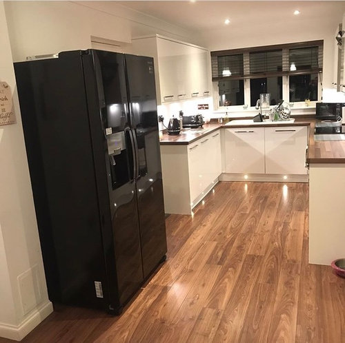 The Next Picture Is Other End Of Kitchen Diner Toaster And Kettle Etc Will Be Getting Replaced With White Ones When Walls Have Colour
