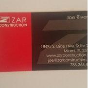 Zar construction's photo
