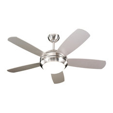 silver ceiling fans | houzz