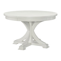 Rachael Ray Home   Rachael Ray Home Everyday Dining Round To Oval Pedestal  Table, Sea