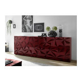 Prisma (red) 4 door sideboard