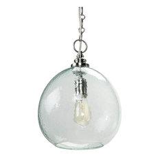 recycled glass pendant lighting houzz
