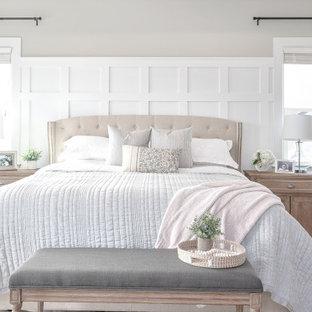 Идея дизайна: спальня в морском стиле