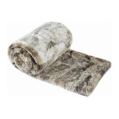 Comfy Faux Fur Throw Blanket