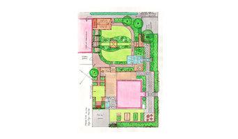 Gartenentwurf Familie S. HH-Vierlanden, Version B