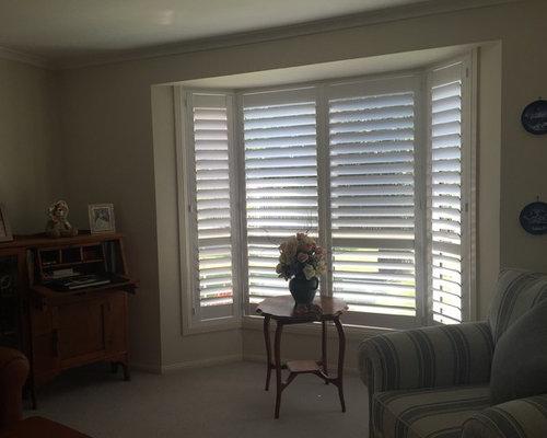 Internal Shutters - Bay Window - Interior Shutters