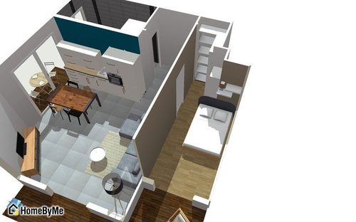idee amenagement appartement f2