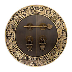 """Blessings for Long Life Cabinet Face Plate, 9-1/2"""""""