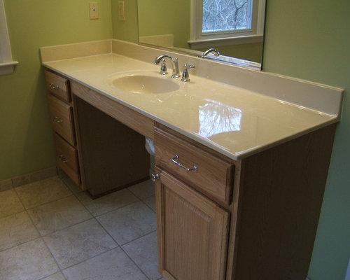 Elegant home design photo in DC MetroHandicap Accessible Vanity   Houzz. Handicap Bathroom Vanity Photos. Home Design Ideas