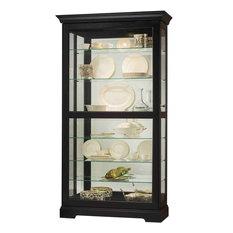Howard Miller Tyler Display Cabinet, Black
