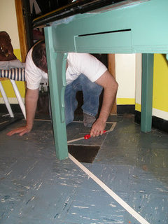 How To Remove S Linoleum GLUE From S Wood Floors - Removing black tar flooring adhesive