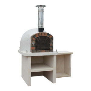 Premier Wood Fired Pizza Oven With Stand and Table