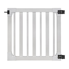 Sturbridge Vinyl Yard & Pool Gate w/Hardware, 4'x4'