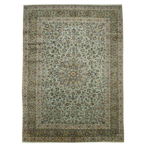 Kashan Persian Rug, Hand-Knotted, 410x305 cm