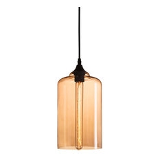 Battery operated pendant lights houzz zuomod bismite 1 light pendant pendant lighting mozeypictures Choice Image