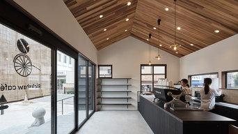 嵯峨嵐山のカフェ(平屋)