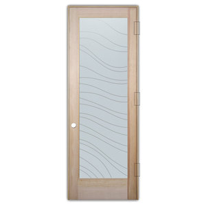 Interior Glass Door Sans Soucie Art Glass Dreamy Waves Private