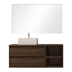 Soul 2-Piece Bathroom Vanity Unit, Britannia Finish, 120 cm