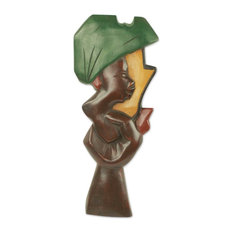 Blessed Hand Wood Sculpture