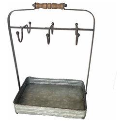 Farmhouse Dinnerware And Stemware Storage by The Grey Antler