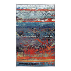 Mohawk Home - Eroded Color Multi Rug, 5'x8' - Area Rugs