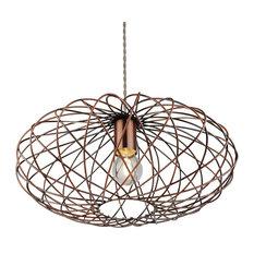 Pagazzi Lighting - Firefly Pendant Ceiling Light, Antique Copper - Pendant Lighting