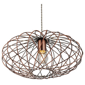 Firefly Pendant Ceiling Light, Antique Copper