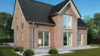 Unser Hausmodell H 003 (Herrenhaus mit Satteldach)