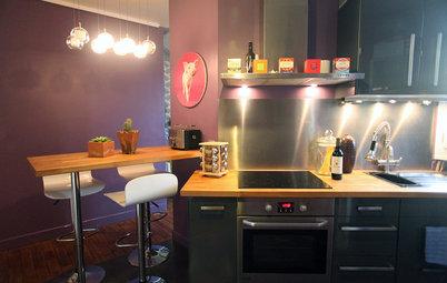 9 grandes astuces pour petite cuisine. Black Bedroom Furniture Sets. Home Design Ideas