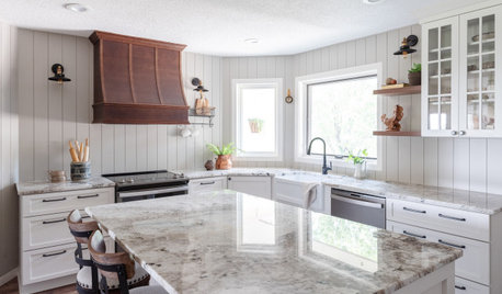 New This Week: 4 Classic Farmhouse-Style Kitchens