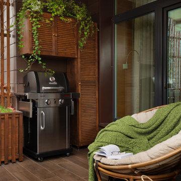 Квартира 86м2 | WHITE NATURE | Современный скандинавский стиль